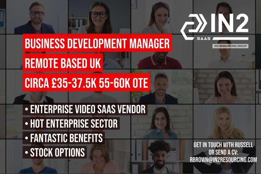 Business Development Manager - Enterprise Video